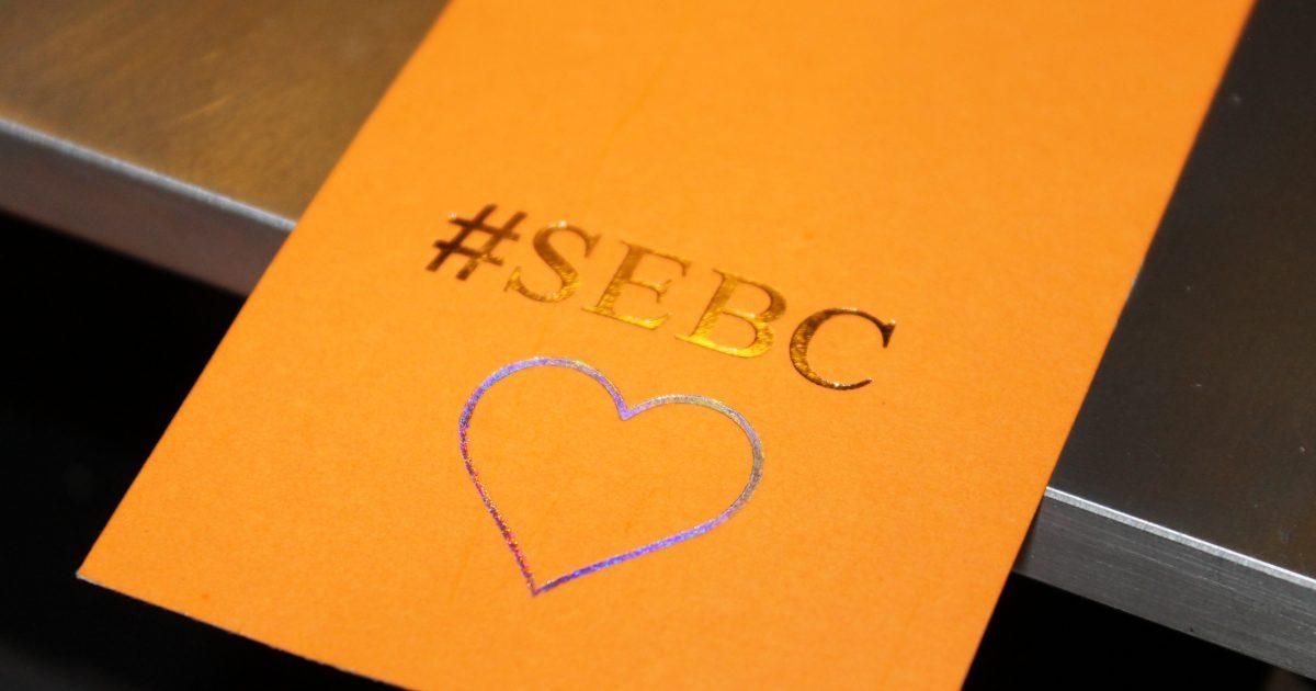 sebc logo embossed