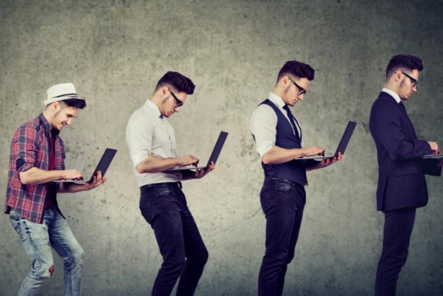 evolution of a linkedin professional