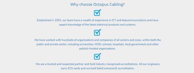 octopus cabling